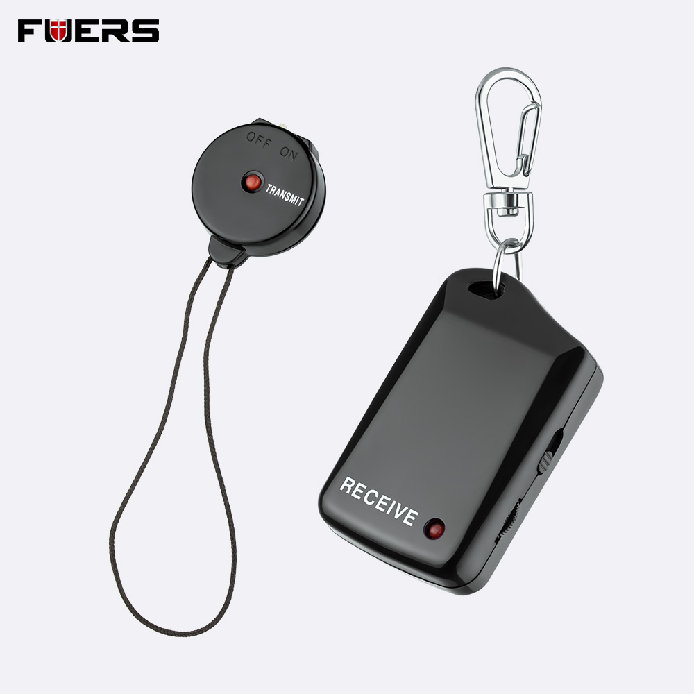 Fuers Wireless Electronic Anti-Lost Alarm Security Key Chain Finder Locator Reminder Kids Wallet Pet Alarm Keychain Lost Prevent