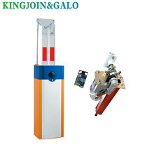 GALO 180 Degree Intelligent Gate Stopping  Barrier Gate Operator Up boom Beam Aluminum Vehicle Barrier Gate 180 degree up