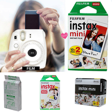цена на Fujifilm Instax Mini Film White Edge Photo Papers For Camera Mini 8/ 7S/ 25/ 70/ 90 Instant Camera Funny Mini Film Photo Paper