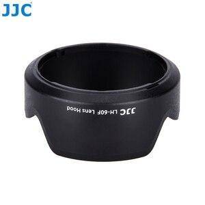 Image 4 - JJC Camera Flower Shade osłona obiektywu do CANON EF M 18 150mm obiektyw do Canon EOS M200 M100 M50 M10 M6 Mark II M5 wymień Canon EW 60F