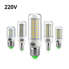 Full NEW LED lamp E27 E14 7W 12W 15W 18W 20W 25W SMD 5730 Corn Bulb 220V Chandelier LEDs Candle light Spotlight(China)