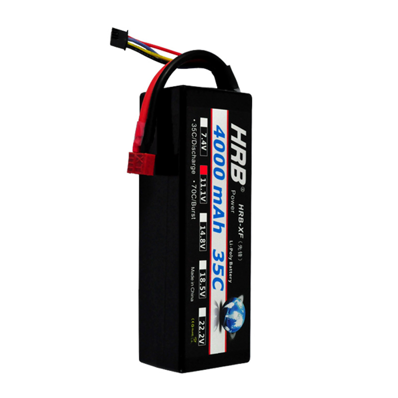 HRB RC Car Lipo <font><b>3S</b></font> <font><b>Battery</b></font> Hard Case <font><b>11</b></font>.<font><b>1V</b></font> 4000mAh <font><b>3S</b></font> 35C MAX 70C XT60 For RC Helicopter Airplane Quadcopter Part Drone Bateria