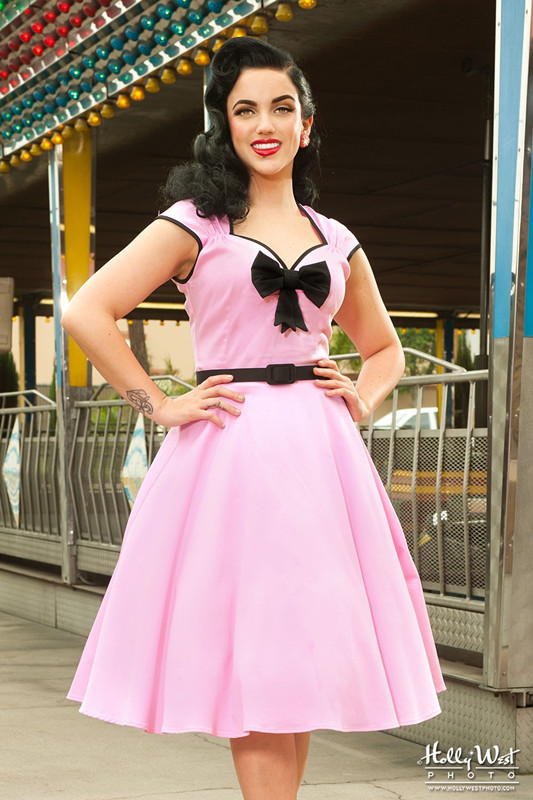 Popular Pink 50s Dress-Buy Cheap Pink 50s Dress lots from China ...