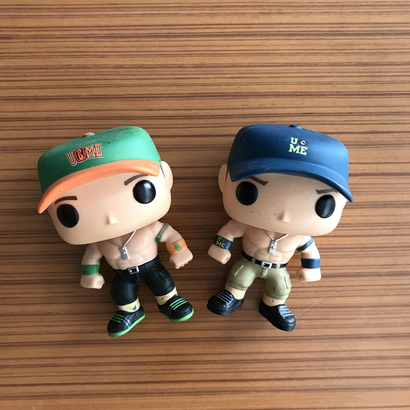 Original Funko POP Wrestling John Cena Fighter Boxer You can't see me Vinyl Action Figure Collectible Model Loose Toy No Box