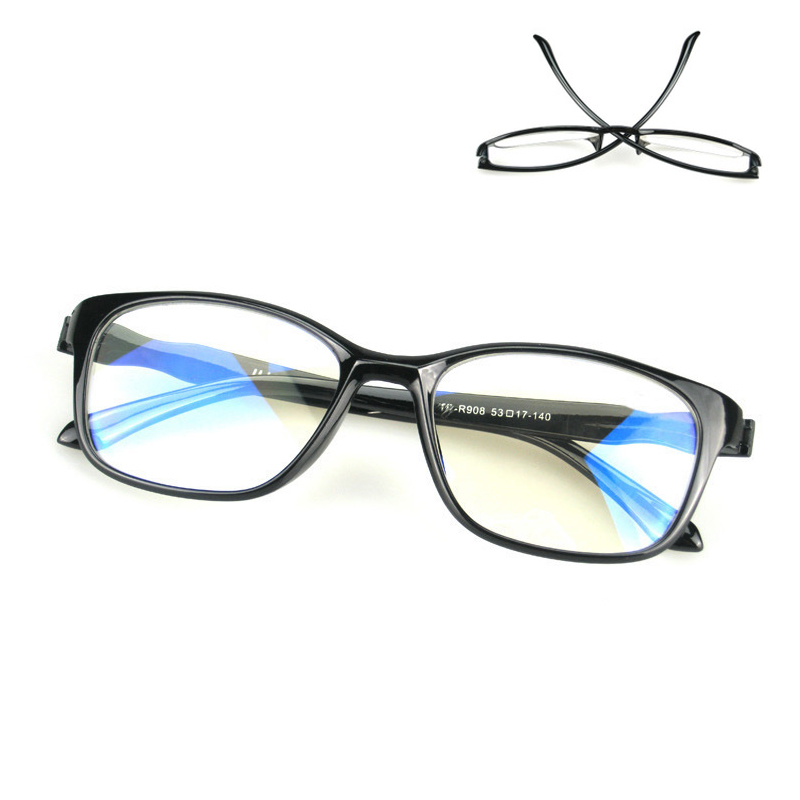 TR90 Anti Blue Rays Computer Goggles Reading Glasses Radiation Resistant Glasses Blue Light Blocking Gaming Glasses Eyewear