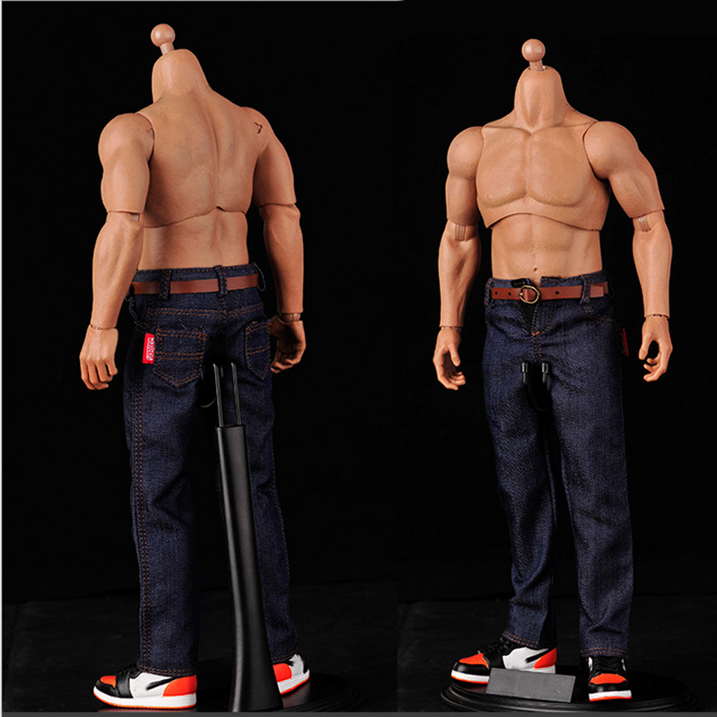 Classic Pants Jeans Belt Action-Figure-Clothes Zy-Toys Sideshow Dark-Blue-Accessory Enterbay