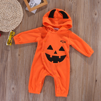 UK Newborn Infant Baby Boys Girls Romper Hooded Jumpsuit Bodysuit Clothes Outfit