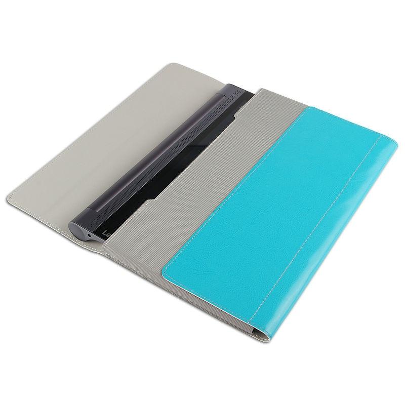 Lenovo Yoga B6000 Için Koruyucu Akıllı kapak Deri Tablet Için - Tablet Aksesuarları - Fotoğraf 5