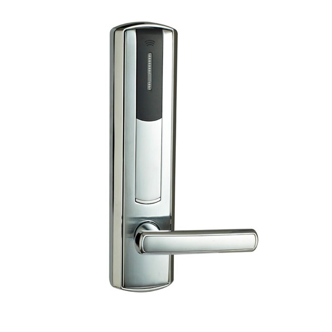 hotel lock system, RFID T5577 hotel lock,gold,silver,Zinc alloy forging Material,sn:CA-8037 rfid t5577 hotel lock stainless steel material gold silver color a test t5577 card sn ca 8006