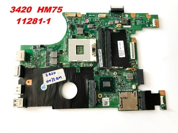 Original for DELL 3420 HM75 SLJ8F laptop motherboard  3420  HM75 11281-1   tested good free shipping connectors