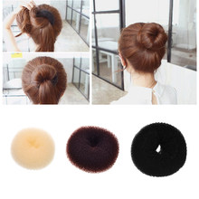 M MISM Magic Donut ผม Bun Maker Foam Sponge Curler DIY ผมจัดแต่งทรงผม(China)