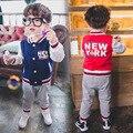 Anlencool Alta qualidade chegam novas dos bebés roupas definir hoodied roupas terno 2 cores esportes dos meninos terno Varejo e livre grátis
