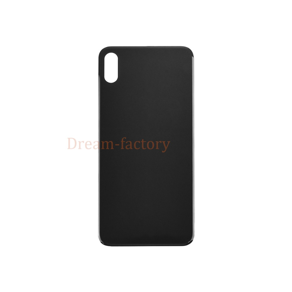50pcs lot DHL For iPhone XS Back Battery Cover Rear Door Glass Housing Replacement Part Adhesive