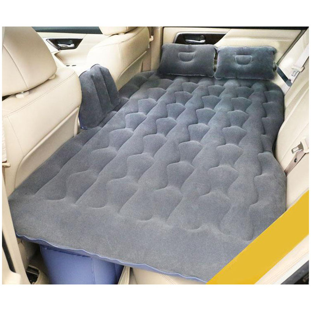 2017 New Car Back Seat Cover Air Mattress Travel Bed Inflatable Good