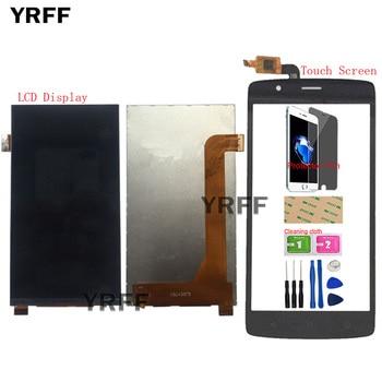 5 Display LCD Mobile Per FLY Cirrus 3 FS506 Display LCD Touch Screen Frontale di Vetro Digitizer Assembly Parti di Strumenti di pellicola della protezione