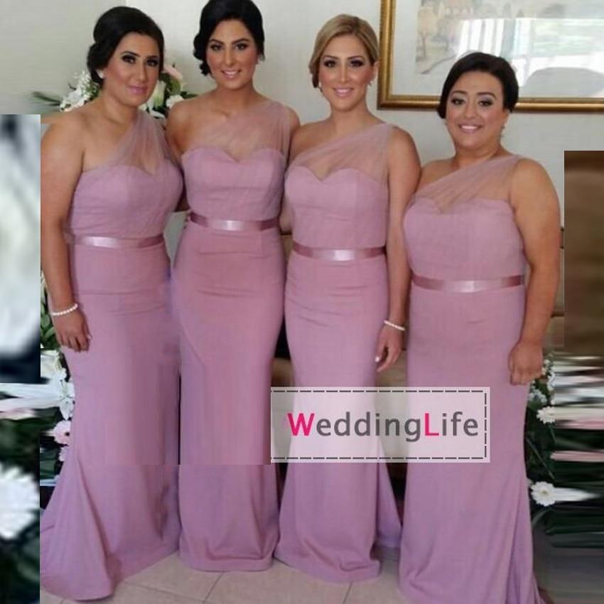 Popular Light Purple Bridesmaid Dresses-Buy Cheap Light Purple ...