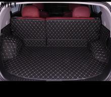 цена на mili Custom car trunk mats for Jeep all models compass wrangler patriot Cherokee Grand Cherokee Renegade car styling accessories