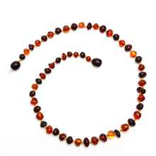 HAOHUPO Baltic Amber Teething Necklace For Babies (Unisex)