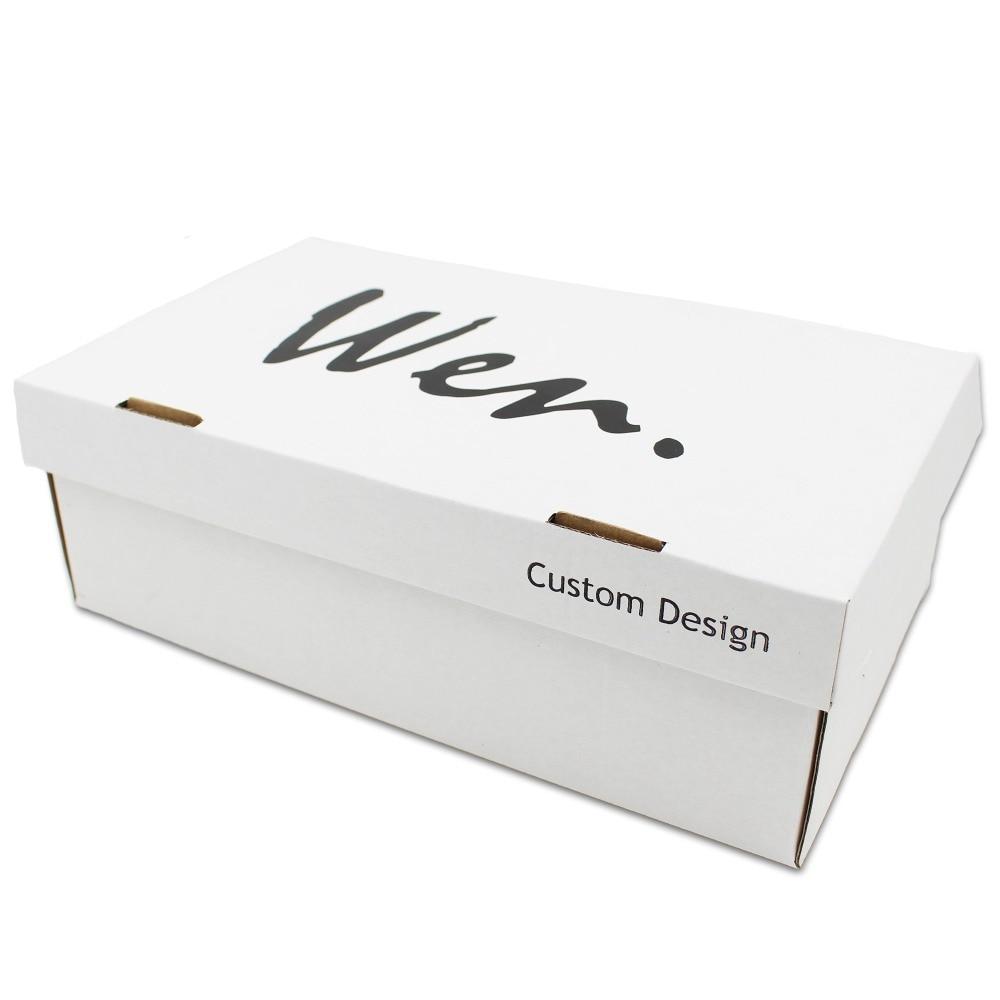 Wen dizajn ručno oslikano bijelo platno cipele ptica kavez muškarci - Tenisice - Foto 6