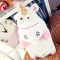 One Piece Миньоны Гадкий я 2 45 СМ Juguetes Пушистый Единорог Плюшевые Игрушки Супер Мягкий Подушка Кукла Для Детей Рождество подарок
