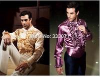 עיצובים צפצף המעיל האחרונים חולצת גברים איטלקיות רומנטיות Overshirt חולצות באיכות גבוהה Custom Made טוקסידו המפלגה ארוחת ערב אופנתי Terno