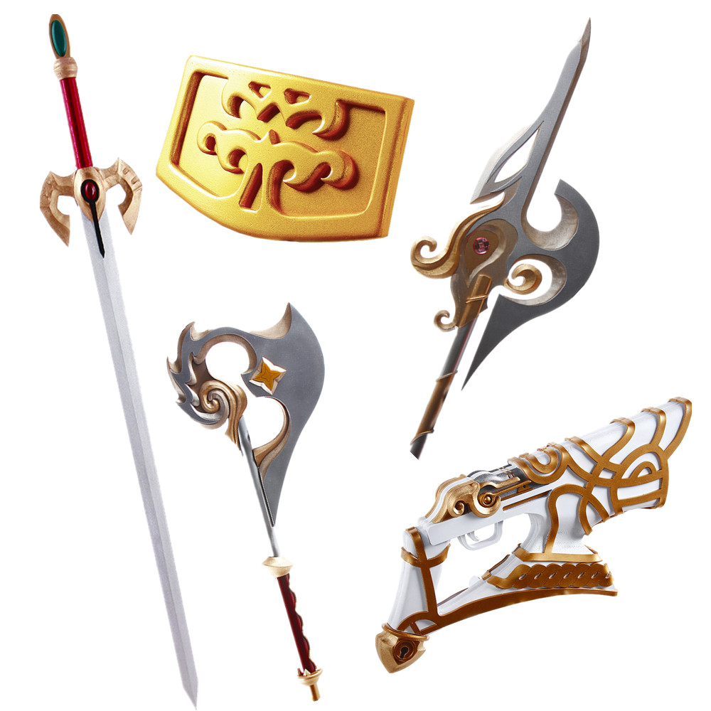 CGCOS Fast Shipping Cos Cosplay Props Fire Emblem Kiran Fiora Ana Holmes Mars Anime Game Stock Halloween Christmas