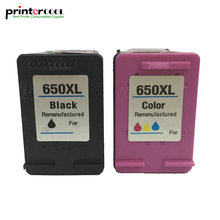 einkshop 650 xl Refilled Ink Cartridge Replacement for HP 650xl Deskjet 1015 1515 2515 2545 2645 3515 3545 4515 4645 printer