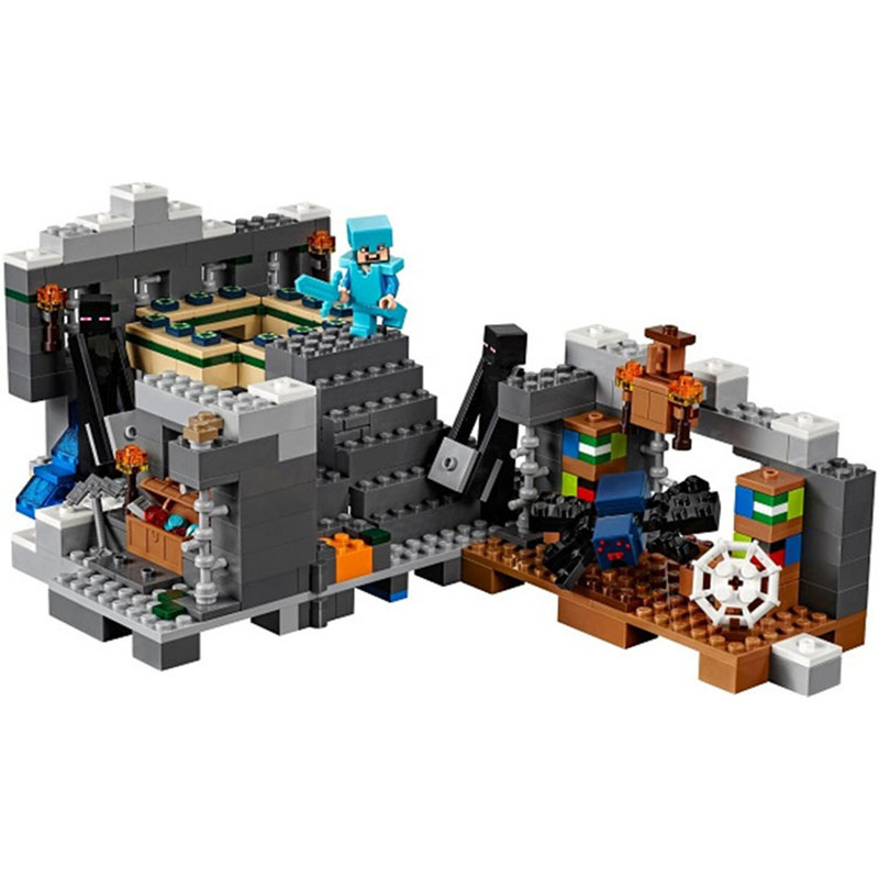 Pogo Gifts Minecrafte My World Zombies Building Blocks Bricks Toys Compatible Legoe gifts pogo bela 747pcs minecraft my world building blocks bricks compatible legoe educational hobbies for children toys