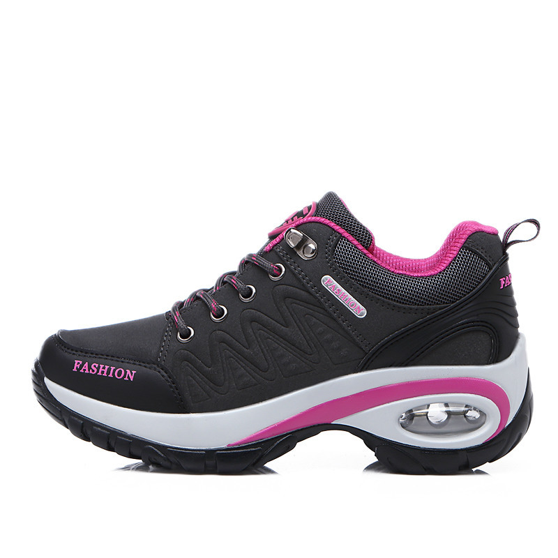 Climbing Shoes Non-Slip Travel Women Air-Cushion Increased Wear-Resistant Autumn