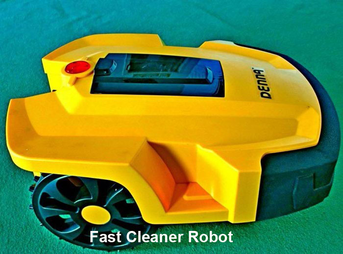 Automatic Robot Lawn Mower with Infrared detection function Password font b protection b font Software upgrading