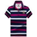 Высокого качества для мужчин polo shirt 2017 новый бренд лета Хлопка полосатый polo мужчины Бизнес повседневная мужская твердые polo рубашка бренд одежда