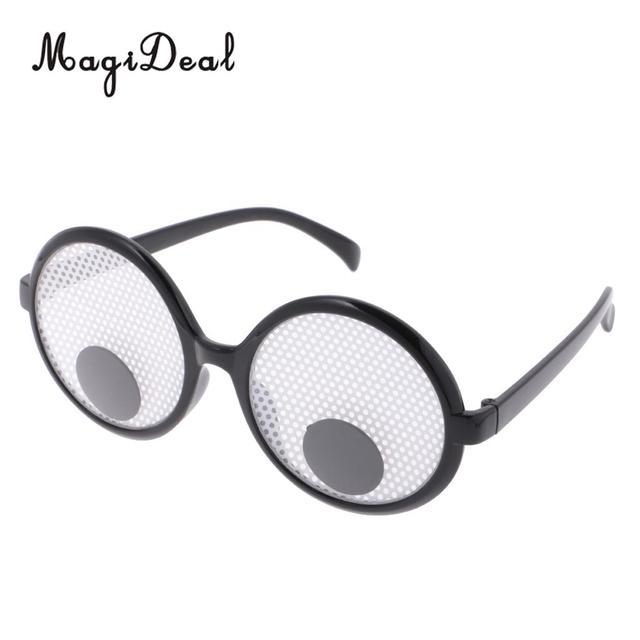 novelty googly eyes funny joke glasses fancy dress party novelty