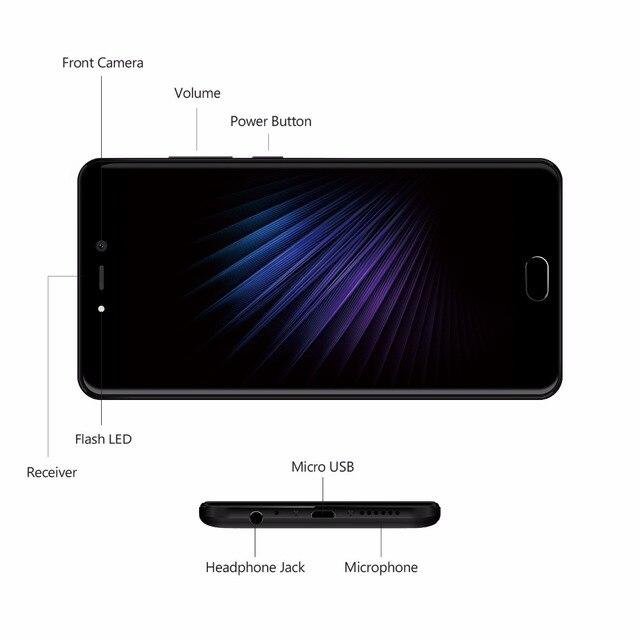 LEAGOO T5 4G LTE Smartphone Android 7.0 MT6750T Octa Core 5.5 2