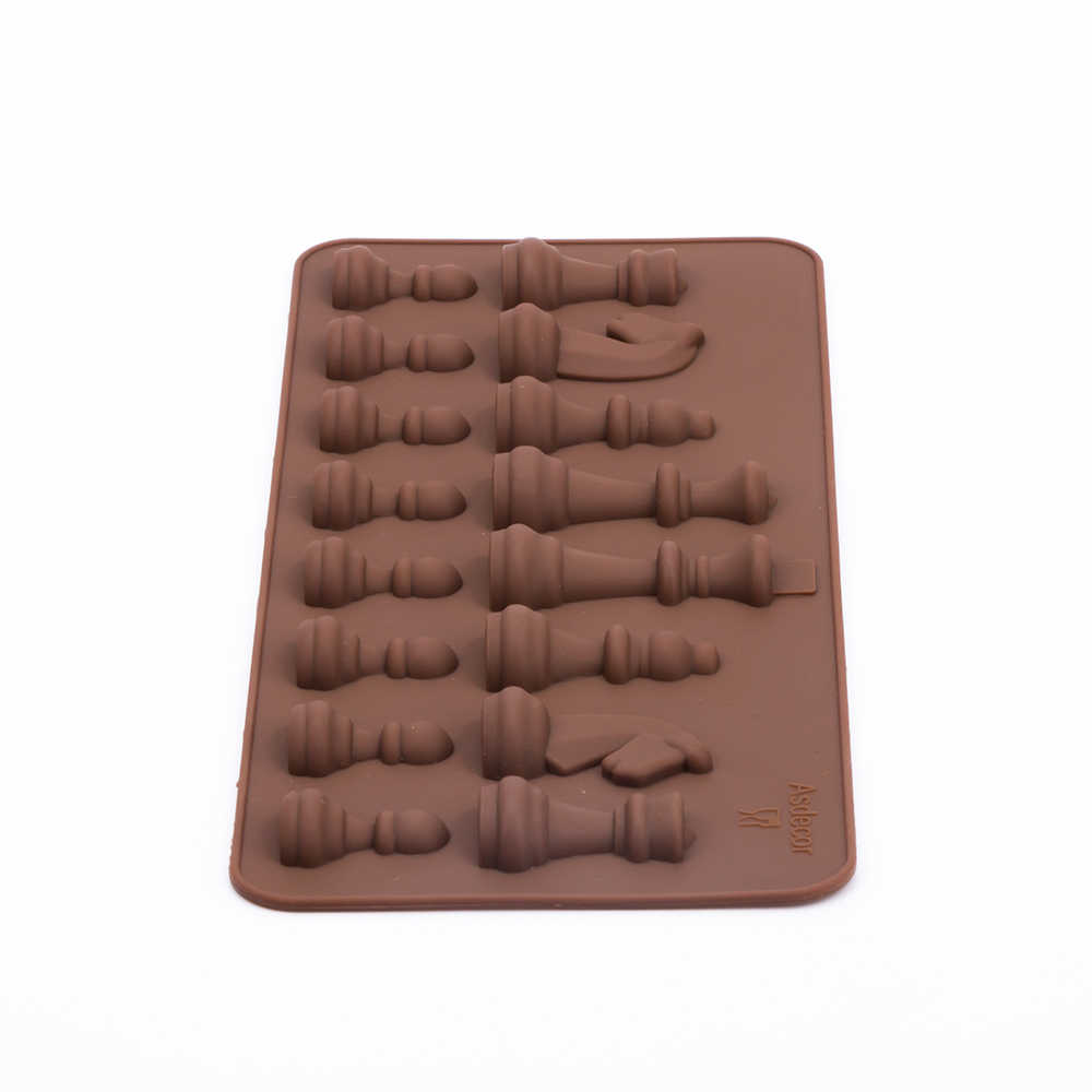 1 Piece Silicone 3D Chess Cake DIIY Decorating Moulds Candy Cookies Chocolate Baking Mold Creative Cake Tools