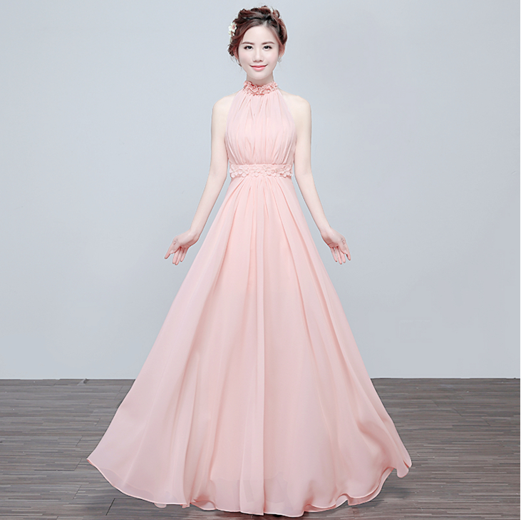 Popular Light Pink Evening Gown-Buy Cheap Light Pink Evening Gown ...