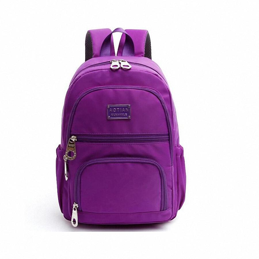 Women Backpack New Ladies Shoulder Bag waterproof Nylon Backpacks ...