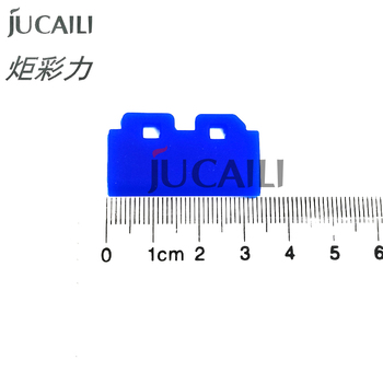 Jucaili 10 pcs Solvent Resistant printer rubber Wiper for DX5 DX7 Print Heads Blade Mutoh Roland Mimaki cleaning wiper parts mimaki double decked pulley printer parts