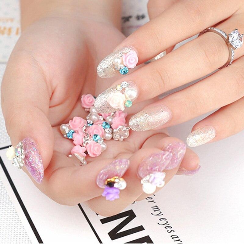 Beautiful Japan 3d Nail Art Composition - Nail Art Ideas - morihati.com