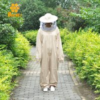 Beekeeping Jacket Veil Set Camouflage Smock Equipment Supplies Anti Bee Protective Safety Clothing Bee Keeping Suit