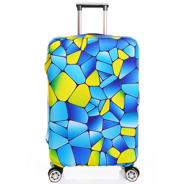 Thick S/M/L/XL Elastic Suitcase Cover Fashion Luggage Protective Sleeve Trolley Bags Cover for 18″~32″ Dust , Travel Accessories