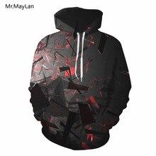 2018 Autumn Hipster 3D HD Digital Print Jacket Hoodies Men/Women Hiphop Pullover Pockets Hood Sweatshirts Boys Tracksuit Outwear цена