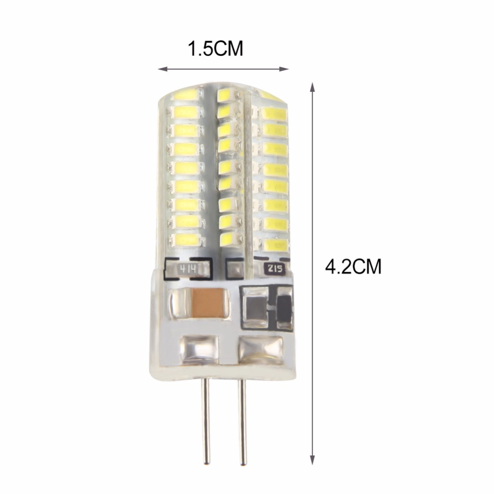 MIFXIN 6pcs G4 Lamp 5W SMD 3014 AC 220V LED bulb Halogen Light 360 Beam Angle Downlight Led Bulbs 64LEDS