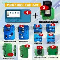 Promo Wozniak Pro1000S banda base lógica NAND CHIP programador batería cable de datos probador de detección Modular para iPhone 4 4S 5 5S 6 6s 7 7p