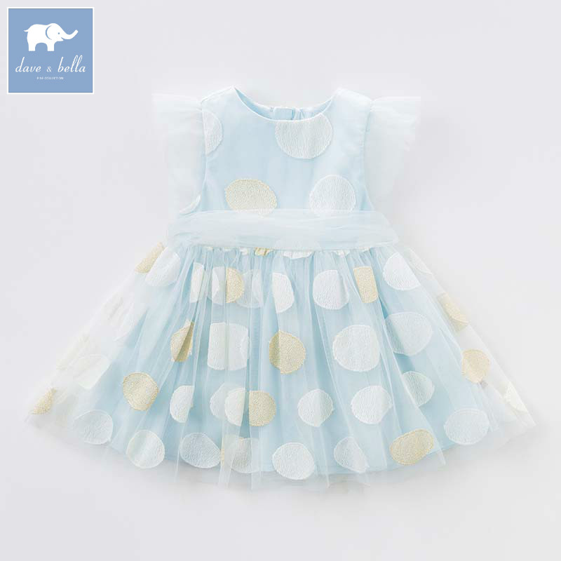 Dave bella Princess girls dresses children summer party wedding clothes baby embroidery costumes infant toddler gown DB7576Dave bella Princess girls dresses children summer party wedding clothes baby embroidery costumes infant toddler gown DB7576