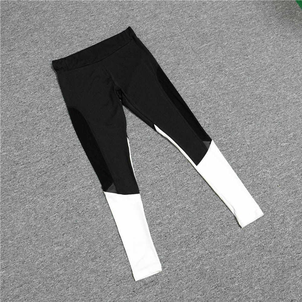 Vrouwen Hoge Taille Leggings Sport Gym Broek Lopen Fitness Leggings Broek Workout Kleding leggings fitness feminina