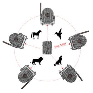 Image 2 - ワイヤレス警報システムキット 5 個/2 個赤外線検出器 + 1pc 受信機 300 メートル ir 狩猟トレイル野生トラップホームセキュリティ