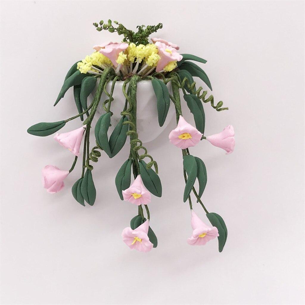 Plante Haute En Pot €1.22 49% de réduction|haute qualité mini maison de poupée miniature plante  verte fleur en pot fée jardin accessoire drôle enfants jouets cadeau