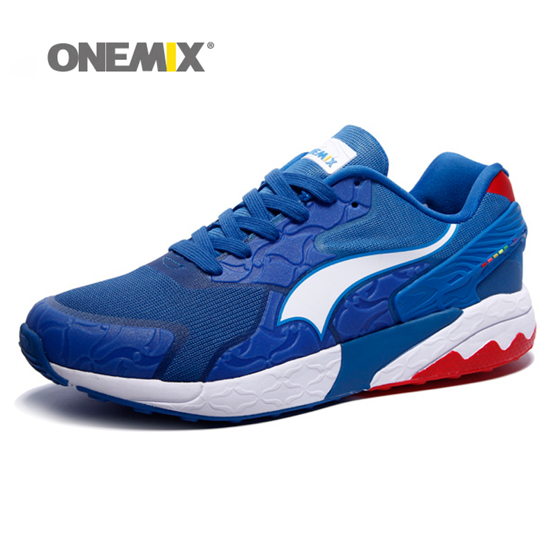 New design onemix running shoes sneakers for men's training sports shoes gym sneakers elastic outdoor shoes for jogging walking mulinsen brand new autumn men running shoes inside height increasing outdoor sports shoes jogging training sneakers 270092