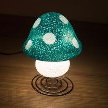 12v eva гриб светодиодные лампы цветок украшение освещение дома ночь свет участник украшение привело navidad огни украшения сада