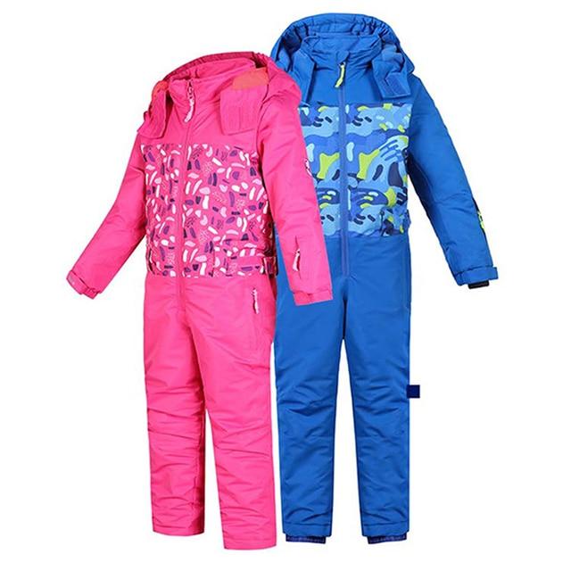6e3d841a4 Ski Suit Jacket Kids Boys Girl Children Hooded Softshell Jackets ...